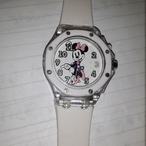 Light up Disney Minnie mouse watch